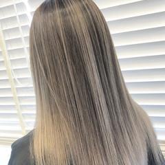 グラデーション ブリーチ グラデーションカラー ロング ヘアスタイルや髪型の写真・画像