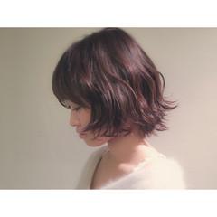こなれ感 大人女子 ボブ ストリート ヘアスタイルや髪型の写真・画像