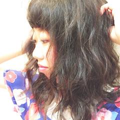 ナチュラル モード 個性的 フェミニン ヘアスタイルや髪型の写真・画像