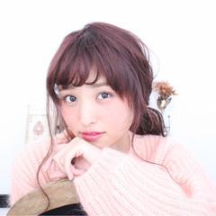 ショート 冬 外国人風 簡単ヘアアレンジ ヘアスタイルや髪型の写真・画像