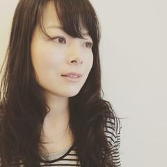 黒髪 パーマ コンサバ デジタルパーマ ヘアスタイルや髪型の写真・画像
