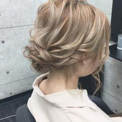 ボブ フェミニン ヘアセット 成人式 ヘアスタイルや髪型の写真・画像