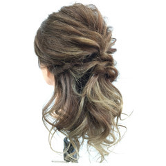 女子会 結婚式 デート リラックス ヘアスタイルや髪型の写真・画像