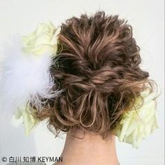 ミディアム 成人式 秋 冬 ヘアスタイルや髪型の写真・画像