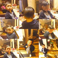 メンズ ストリート 坊主 子供 ヘアスタイルや髪型の写真・画像