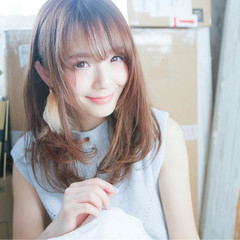大人かわいい パーマ ロング 外国人風 ヘアスタイルや髪型の写真・画像