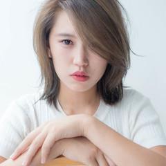 小顔 こなれ感 大人かわいい 大人女子 ヘアスタイルや髪型の写真・画像