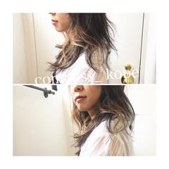 ショート ミディアム オリーブアッシュ カーキアッシュ ヘアスタイルや髪型の写真・画像