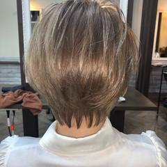 ベリーショート ショートヘア ハンサムショート ミルクティーベージュ ヘアスタイルや髪型の写真・画像