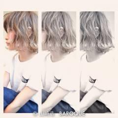 春 ロング パンク ストリート ヘアスタイルや髪型の写真・画像