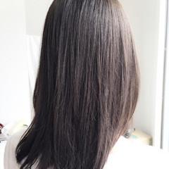ブリーチなし アッシュ 可愛い 黒髪 ヘアスタイルや髪型の写真・画像