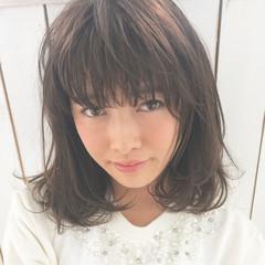 デジタルパーマ 外国人風カラー フェミニン 大人かわいい ヘアスタイルや髪型の写真・画像