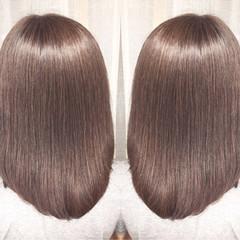 秋 オフィス 透明感 リラックス ヘアスタイルや髪型の写真・画像