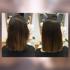 髪質改善カラー モテ髪 トリートメント 髪質改善トリートメント ヘアスタイルや髪型の写真・画像