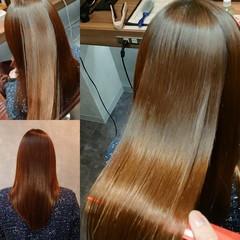セミロング 美髪 髪質改善 ナチュラル ヘアスタイルや髪型の写真・画像