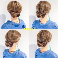 アウトドア デート ボブ フェミニン ヘアスタイルや髪型の写真・画像