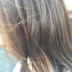 ハイライト 透明感 イルミナカラー ナチュラル ヘアスタイルや髪型の写真・画像
