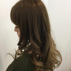 ロング グラデーションカラー 渋谷系 外国人風 ヘアスタイルや髪型の写真・画像