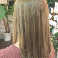 ブリーチ ゆるふわ セミロング モテ髪 ヘアスタイルや髪型の写真・画像
