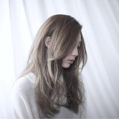 愛され グラデーションカラー ゆるふわ ガーリー ヘアスタイルや髪型の写真・画像
