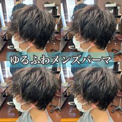 ナチュラル ショート スパイラルパーマ ヘアスタイルや髪型の写真・画像