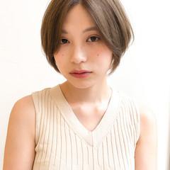 ストレート 縮毛矯正 アンニュイほつれヘア ナチュラル ヘアスタイルや髪型の写真・画像