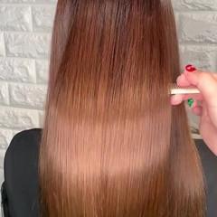 髪質改善 ロング 髪質改善トリートメント 美髪 ヘアスタイルや髪型の写真・画像