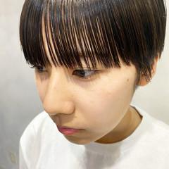 ベリーショート ショートボブ マッシュ ショート ヘアスタイルや髪型の写真・画像
