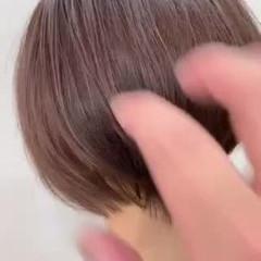 ショートヘア 簡単スタイリング ショートボブ ショート ヘアスタイルや髪型の写真・画像