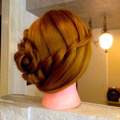 ウォーターフォール ロング ヘアアレンジ 外国人風 ヘアスタイルや髪型の写真・画像