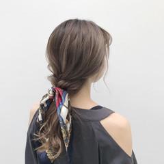 モード デート ヘアアレンジ 夏 ヘアスタイルや髪型の写真・画像
