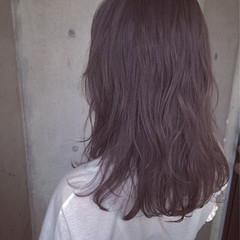 フェミニン グレージュ 外国人風 パーマ ヘアスタイルや髪型の写真・画像