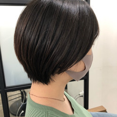 ショートヘア ショート 大人かわいい ショートボブ ヘアスタイルや髪型の写真・画像