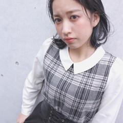 大人女子 ボブ ナチュラル 小顔 ヘアスタイルや髪型の写真・画像