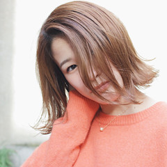 色気 小顔 こなれ感 ニュアンス ヘアスタイルや髪型の写真・画像