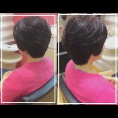 ショート ショートヘア 大人ヘアスタイル ナチュラル ヘアスタイルや髪型の写真・画像