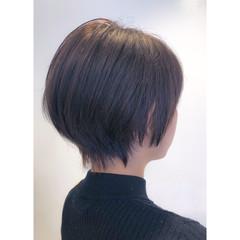 ショートヘア ナチュラル ショート レイヤーカット ヘアスタイルや髪型の写真・画像
