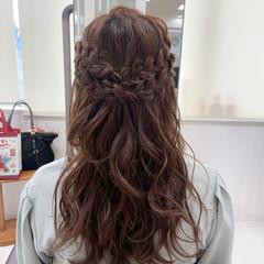 ヘアアレンジ フェミニン お呼ばれヘア 大人かわいい ヘアスタイルや髪型の写真・画像