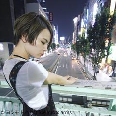 秋 アッシュ ショート ジェンダーレス ヘアスタイルや髪型の写真・画像