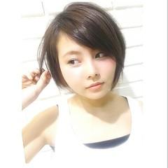 外国人風 大人かわいい ブラウン ストリート ヘアスタイルや髪型の写真・画像