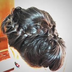 和装 和装ヘア エレガント 和装髪型 ヘアスタイルや髪型の写真・画像