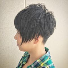抜け感 ショート 外国人風 束感 ヘアスタイルや髪型の写真・画像