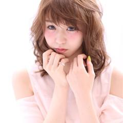 フェミニン ピュア 大人かわいい ゆるふわ ヘアスタイルや髪型の写真・画像