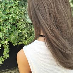 ヘアアレンジ アッシュ くせ毛風 ハイライト ヘアスタイルや髪型の写真・画像