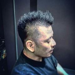ボーイッシュ 刈り上げ ショート モード ヘアスタイルや髪型の写真・画像