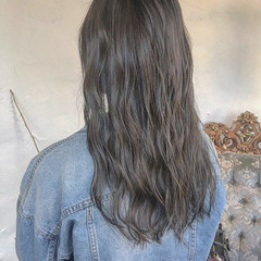 外国人風 モテ髪 ロング 透明感 ヘアスタイルや髪型の写真・画像