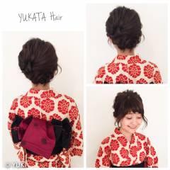 ヘアアレンジ 花火大会 ゆるふわ 大人かわいい ヘアスタイルや髪型の写真・画像