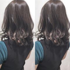 ミディアム 秋 大人かわいい エレガント ヘアスタイルや髪型の写真・画像