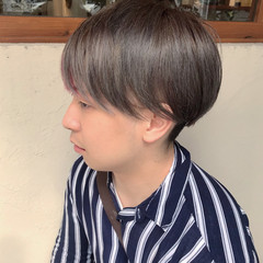 メンズヘア メンズパーマ メンズショート メンズマッシュ ヘアスタイルや髪型の写真・画像
