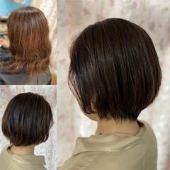 ショート 縮毛矯正 髪質改善 ベリーショート ヘアスタイルや髪型の写真・画像